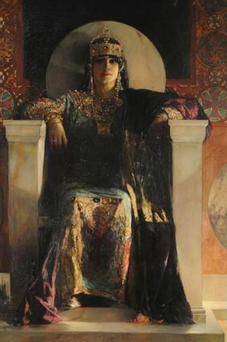 Empress Theodora by Jean-Joseph Benjamin-Constant
