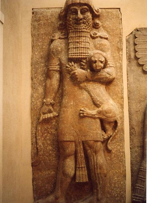 Possible representation of Enkidu.