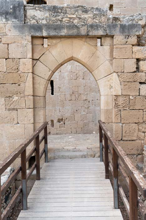 Entrance way to the castle surrounds.