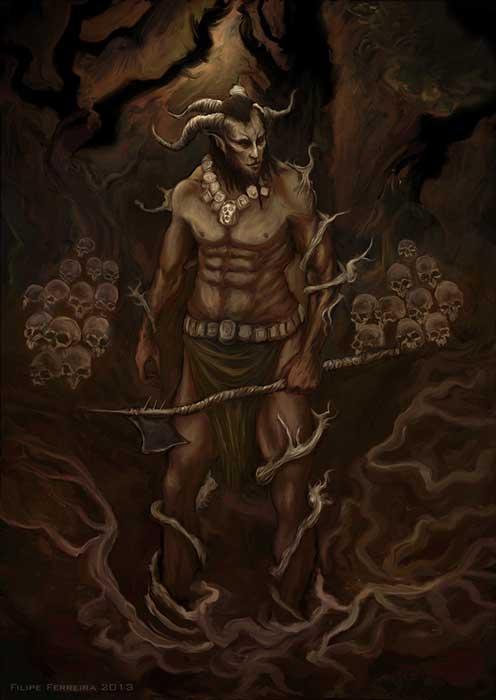 Epic of Gilgamesh – Humbaba. (Felipe Ferreira/CC BY NC SA 2.0)