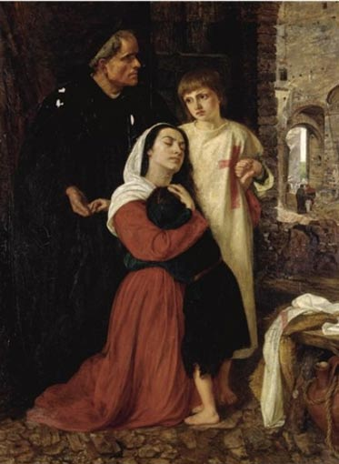 'The Departure: An Episode of the Child's Crusade 13th Century' by Joanna Mary Boyce