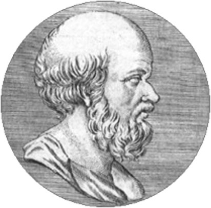 Eratosthenes, as imagined by a later artist.