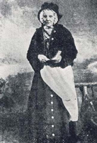 Esther Faa Blythe was Queen of the of Yetholm Gypsies following her father Charles Faa Blyth's death in 1861. (The Scottish Gypsies of Scotland)