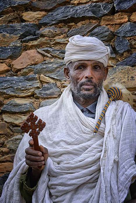 Ethiopian Orthodox Priest, Tigray, Ethiopia