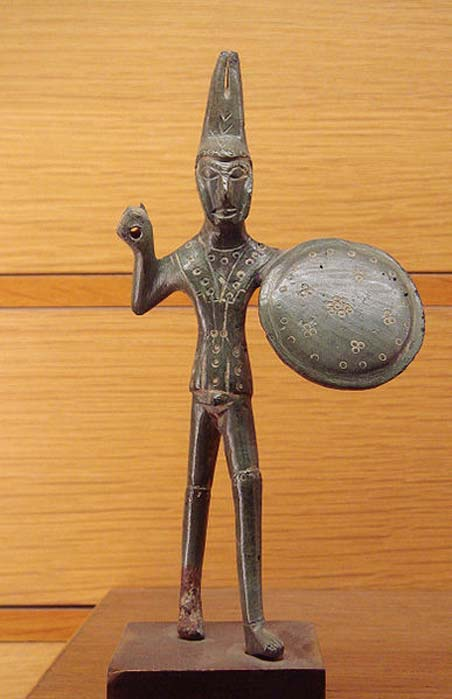 Etruscan warrior, found near Viterbo, Italy, dated c. 500 BC. (CC BY SA 3.0)