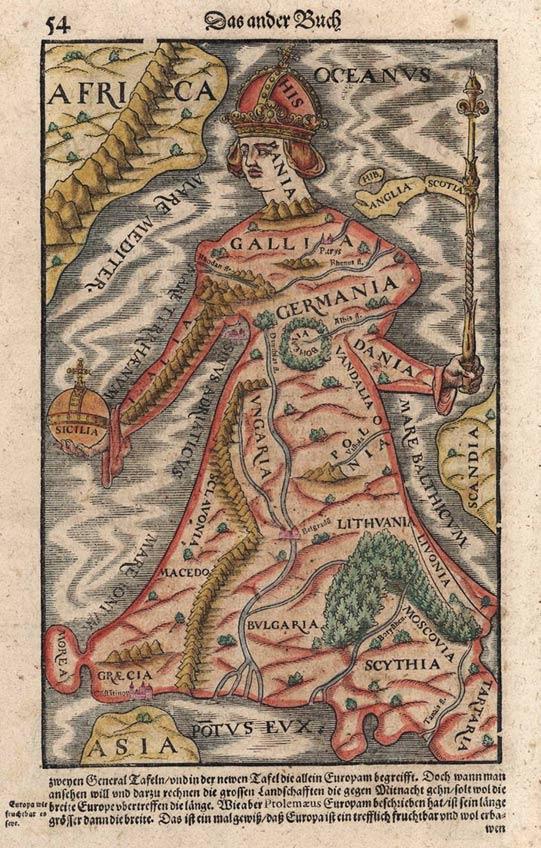 Europe As A Queen, 1570