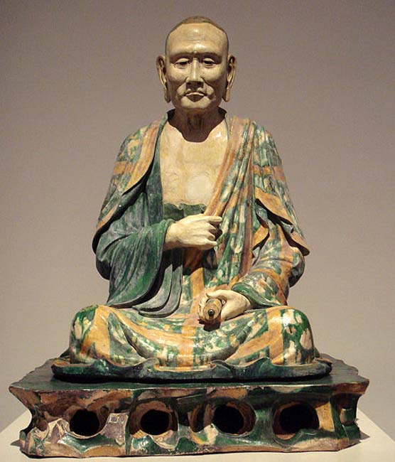 Example of a Luohan dating to the Liao Dynasty, Circa 1000.