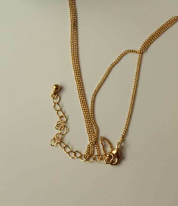 Example of a gold chain. (CC0)