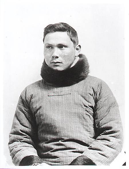 Greenland-born Inuit polar explorer, educator, and Catholic catechist, Jørgen Brønlund. (Public Domain)
