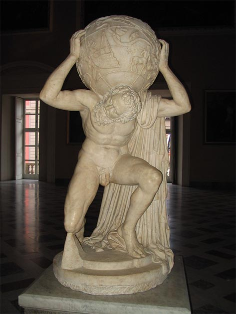 Farnese Atlas. (Re probst / CC BY-SA 3.0)