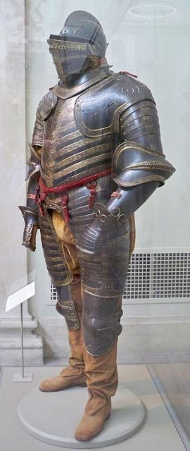 Field armor of Henry VIII of England, Italian, Milan or Brescia, about 1544