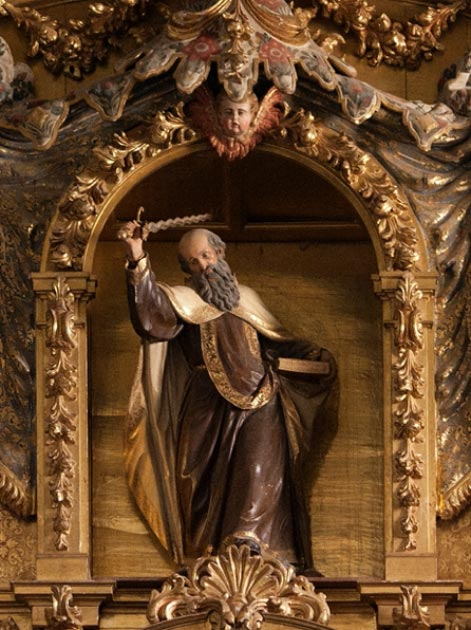 A figure of the Prophet Elijah at St Teresa of Ávila, Spain. (Lawrence OP / CC BY-NC-ND 2.0)