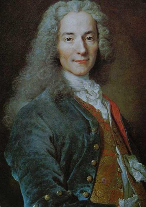 François-Marie Arouet (1694–1778).