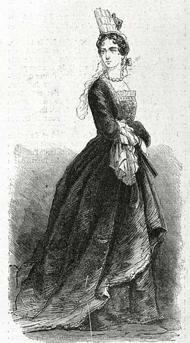 François Timoléon, abbé de Choisy, dressed as a woman.