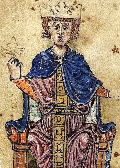 Frederick II, Holy Roman Emperor. 13th century. (Public Domain)
