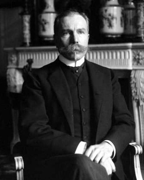 French biologist René Quinton (1866-1925)