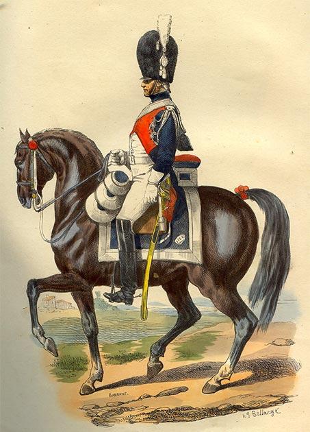 French Maréchaussée, equestrian patrol. (Andynomite / Public Domain)