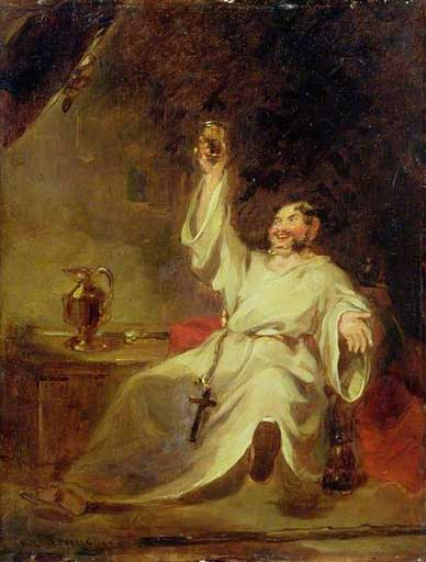 Friar Tuck by Henry Leverseege, (1802-1832)