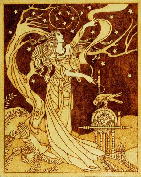 'Frigg – the Goddess of Marriage.'