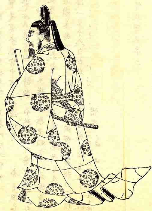 "Fujiwara no Michinaga, the powerful regent, and his family ""controlled"" Heian-period emperors for nearly 200 years. (Kikuchi Yōsai (1781-1878) / Public domain)"