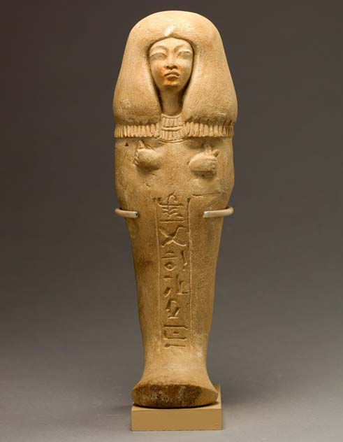 Funerary figurine of Isis, 'Singer of the Aten'. During Akhenaten's reign, the traditional gods were forsaken, and so, this shabti is not inscribed with Spell Six from the Book of the Dead and makes no mention of the funerary god Osiris, as was the norm. Instead, prayers to the king and the Aten were used. Metropolitan Museum of Art, New York. (Public Domain)