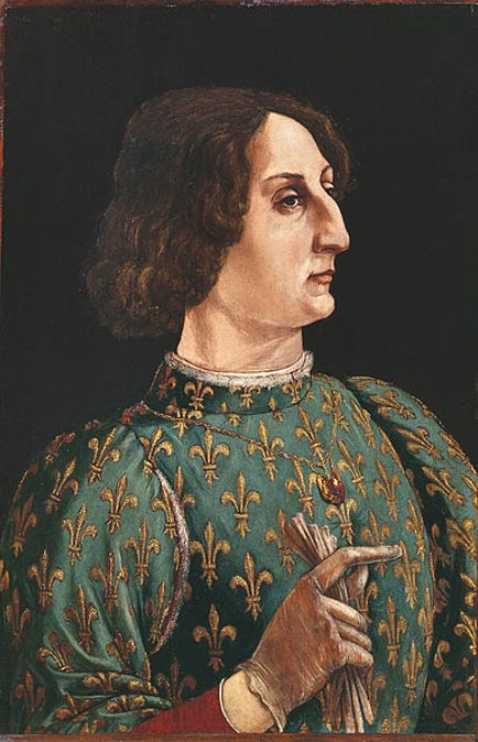 Galeazzo Maria Sforza, Duke of Milan and Caterina's father. (1471)