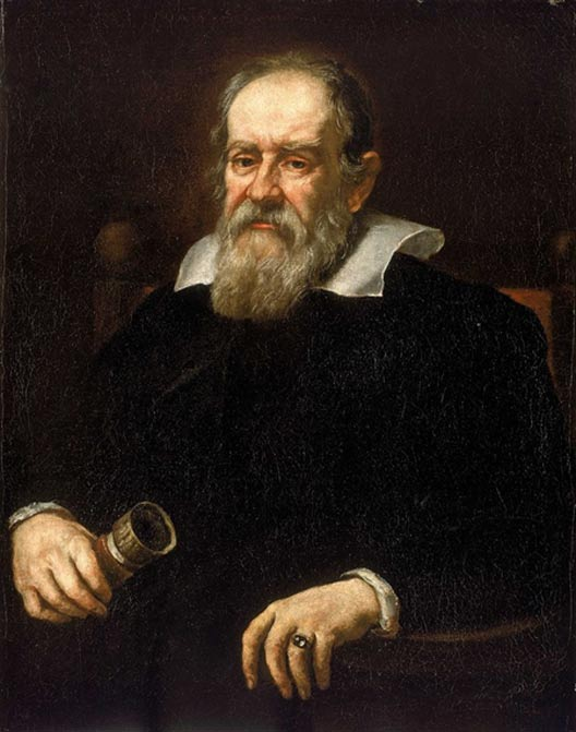 Portrait of Galileo Galilei, 1636