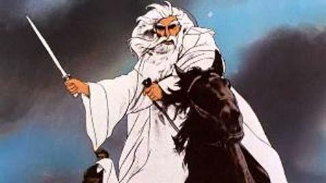 Gandalf in the 1978 animated film.