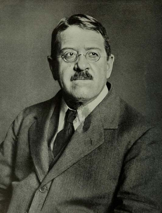 Portrait of George Andrew Reisner.