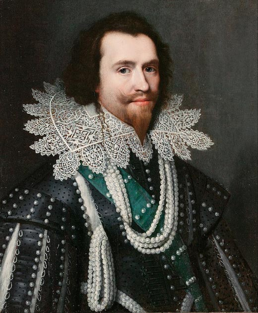 George Villiers, Duke of Buckingham may have owned to the wine bottles. (DcoetzeeBot / Public Domain)