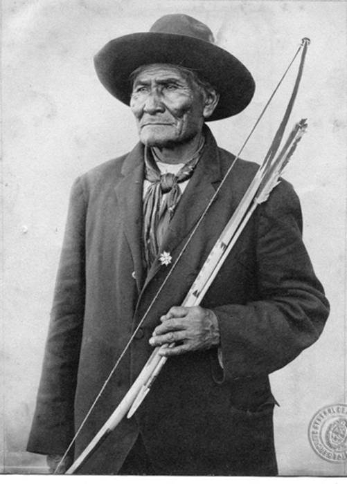 Geronimo, a great leader of the Apaches, was born in 1829 and died 79 years later. Geronimo told the story of this people. (Public Domain)