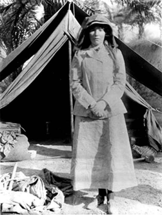 Gertrude Bell in Iraq in 1909