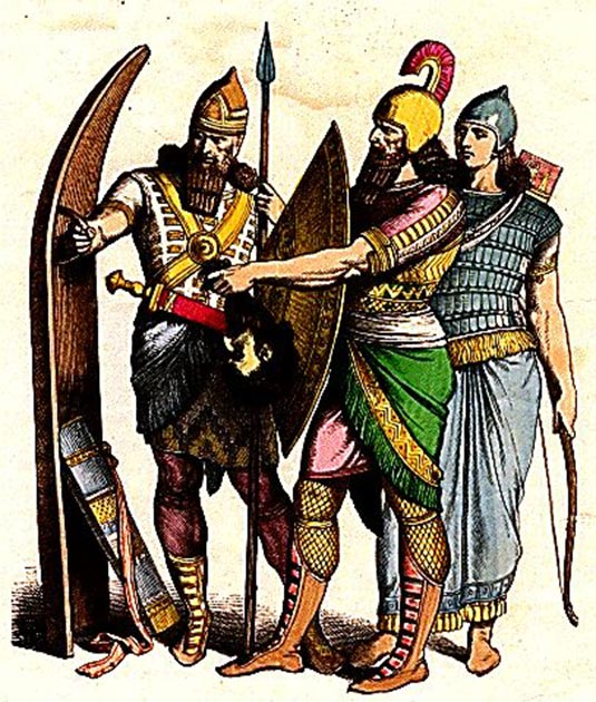 The Getae were enslaved by the Persians and drafted into Darius' army. (Cropbot / Public Domain)