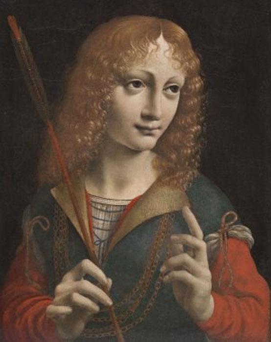 Gian Galeazzo Sforza, c.1483, by Giovanni Ambrogio de Predis.
