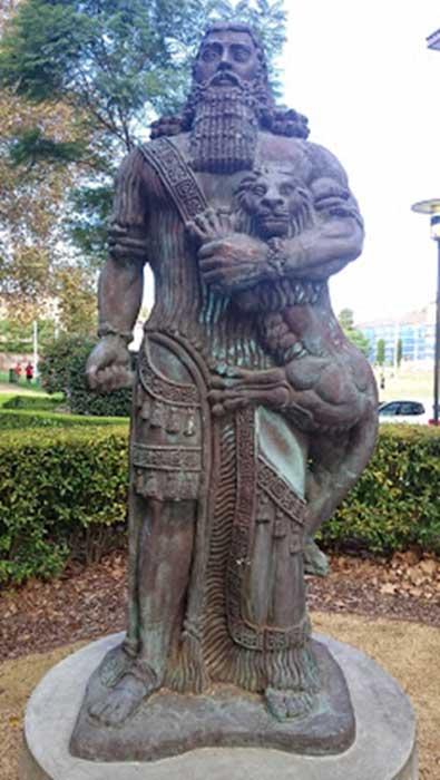 Gilgamesh Statue Sydney University.