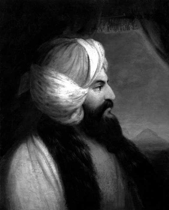 Giovanni Battista Belzoni, by William Brockedon.