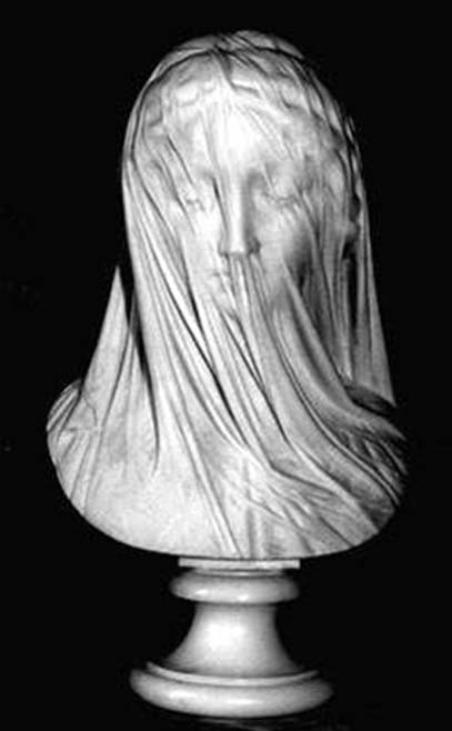 Giovanni Strazza's 'The Veiled Virgin'
