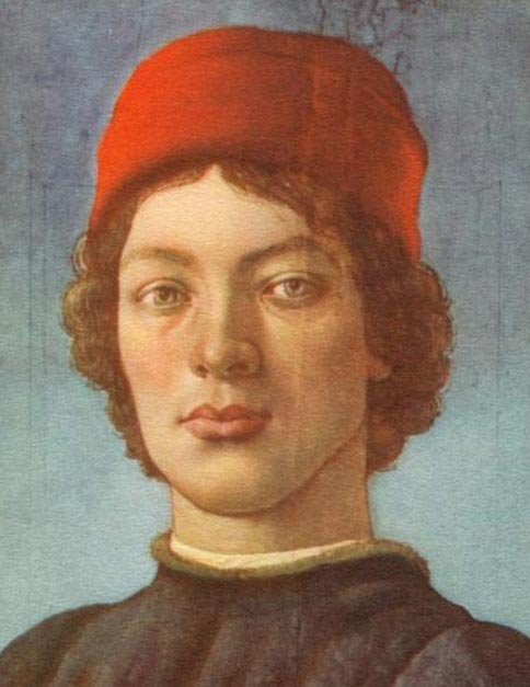 A man identified as Giovanni di Pierfrancesco de Medici, Caterina's third husband.