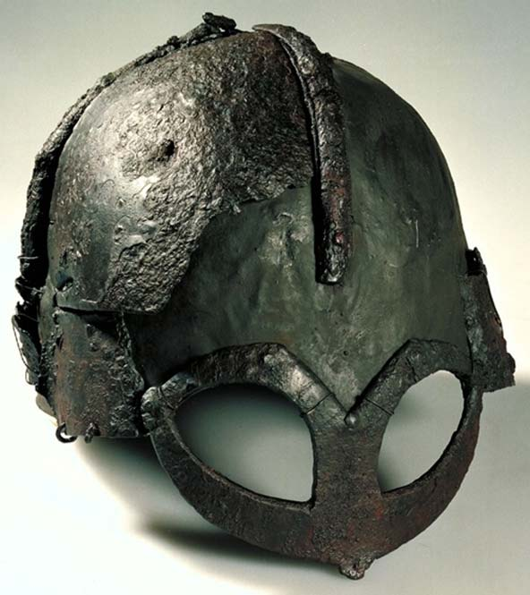 Gjermundbu helmet, the only helmet found that dates to the Viking Age.