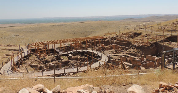 Gobekli Tepe looking south