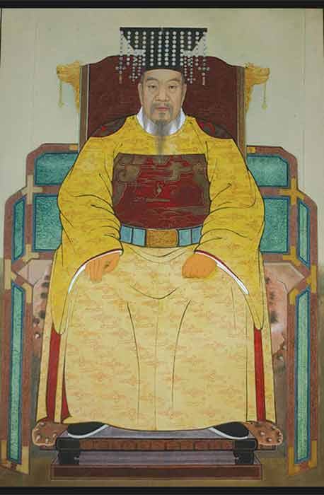 The founder of the Goryeo dynasty was Wang Geon, known also as the Taejo of Goryeo. (Public domain)