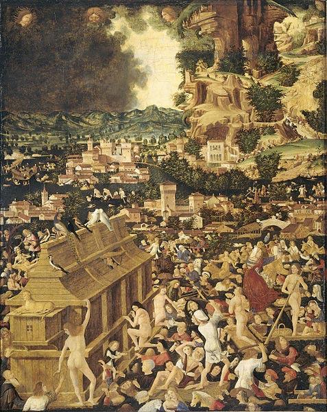 The Great Flood (circa 1450)