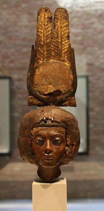 The Great Royal Wife Tiye, matriarch of the Amarna Dynasty - now in the Neues Museum/Ägyptisches Museum in Berlin, Germany.