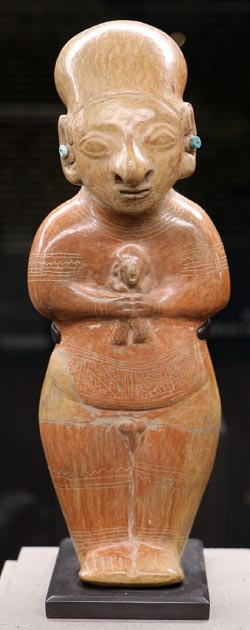 Guangala ancestor figurine, used in burial rituals. (Sailko / CC BY-SA 3.0)