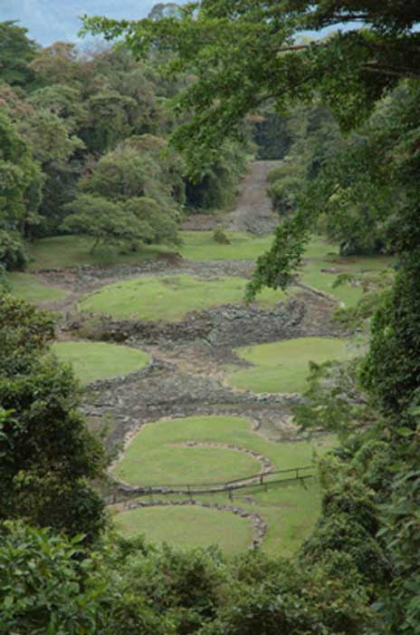 Guayabo de Turrialba monument covers 540 acres, but only a small portion has been uncovered. CC BY 2.0