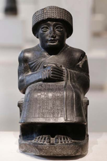 Gudea a ruler of an ancient Mesopotamian city. (Jastrow / Public Domain)