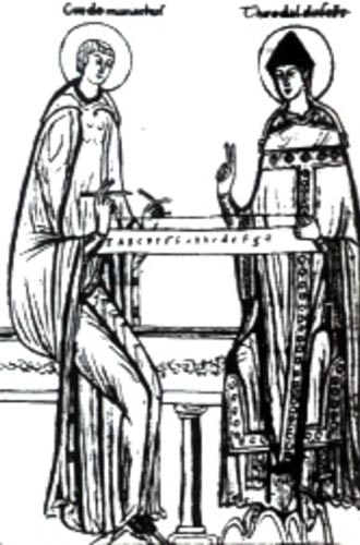 Guido of Arezzo and Tedald