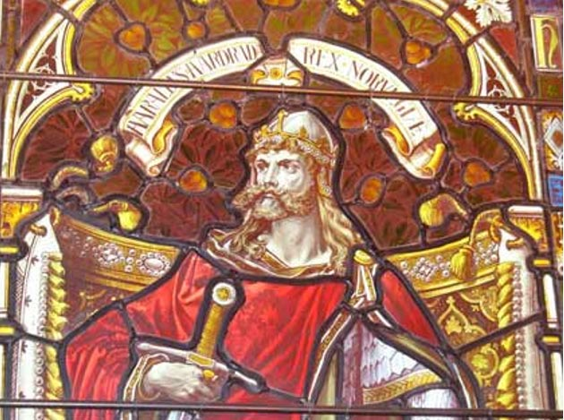 Norse leader Harald Hardrada led his troops to victory. (Wikimedia Commons)