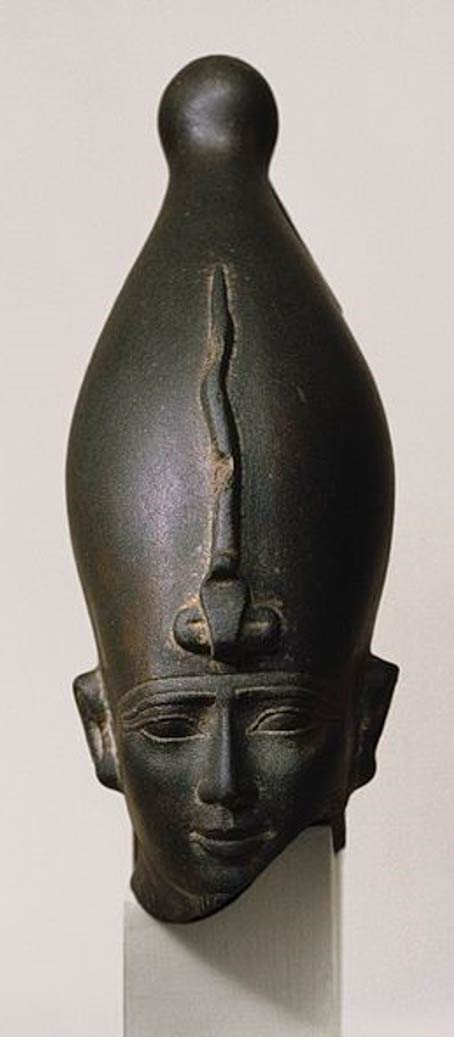 Head of the God Osiris, ca. 595-525 BC