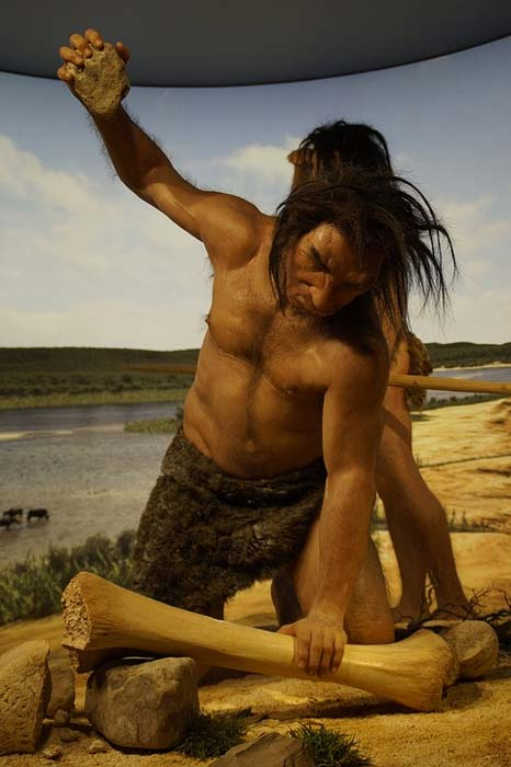Healthy Paleolithic hunter. (CC0)